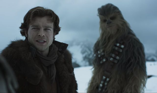 Watch the first full trailer for Solo: A Star Wars Story  #SoloAStarWarsStory #solotrailer #Solo #SoloMovie #StarWars #DIsney #Chewbacca
