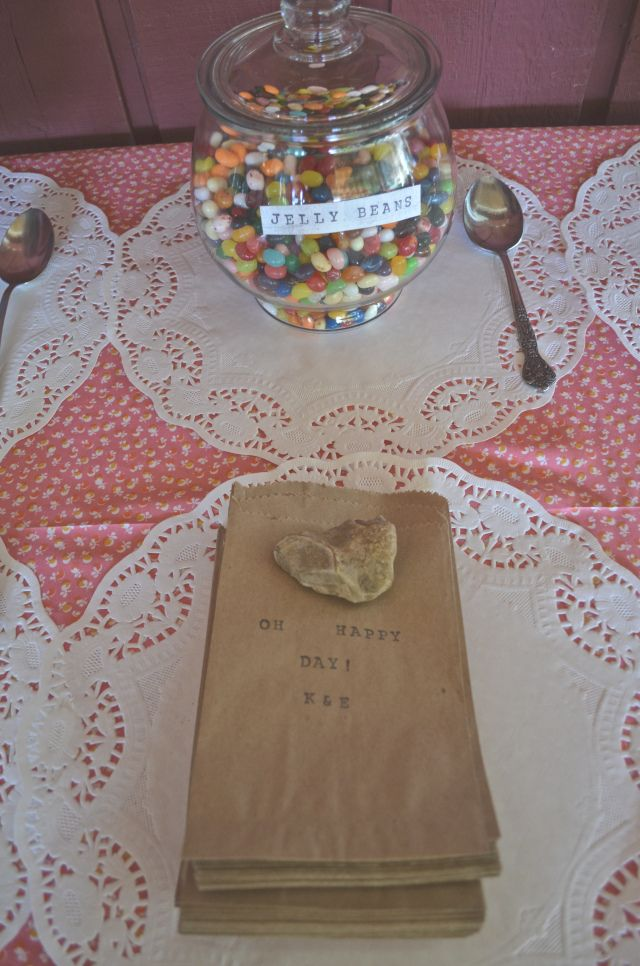 wedding favor idea- candy bar