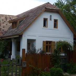 Hungarian traditional house at the countryside