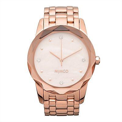 Large Round Glimmer Watch