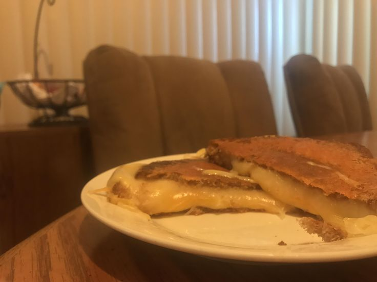 Provolone Colby Jack and Swiss with a Cheddar Crust on Wheat #grilledcheese #food #yum #foodporn #cheese #sandwich #recipe #lunch #foodie