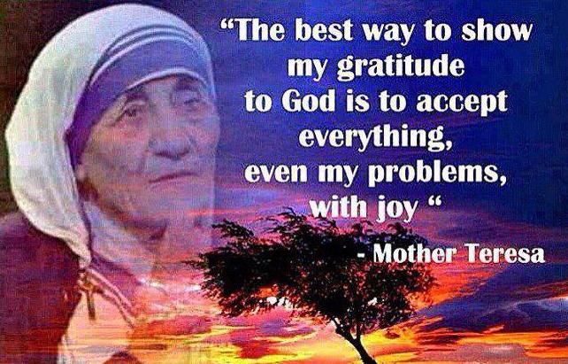 Mother Teresa                                                                                                                                                                                 More