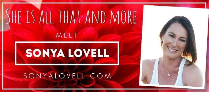 Meet Sonya Lovell, empowering women to dream big and live bold in business and life through coaching, writing an speaking.   I hope you..