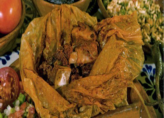 comida Tlaxcala Mixiote