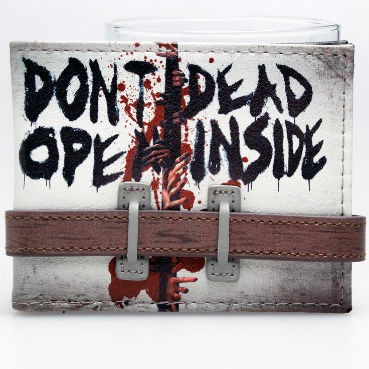 Walking Dead Don't Open Bi-Fold Wallet //Price: $23.60 & FREE Shipping //     #rickgrimes