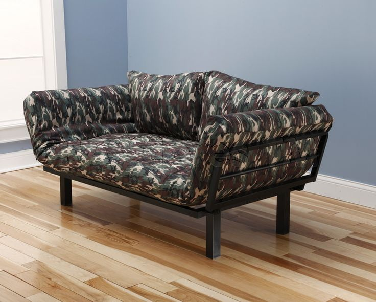 spacely futon lounger in galaxy camo fabric by kodiak 21 best metal futons by kodiak furniture images on pinterest      rh   pinterest