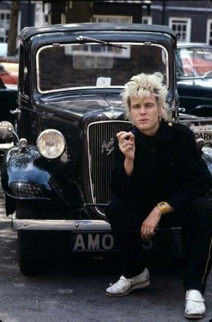 Billy Idol in 1978