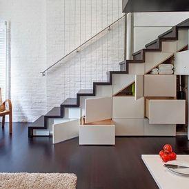 Moderne trapkast door Specht Harpman Architects