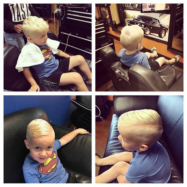 Such a little cutie !! #love #hmxgirls #howtodohair #hairmanstyle #clippers #sissors #cutekidcuts #blonde #adorbs #justhairvids #barber #haircuts #kidshaircut #barberlifestyle #barberia #justhairvids #hairdone #hairnation #bestofbarbers #hairtrends #menshairworld #love #cutiepie #kidsfashion #littleboys #salon