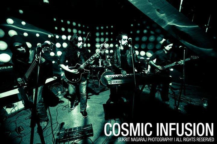 Cosmic Infusion on stage