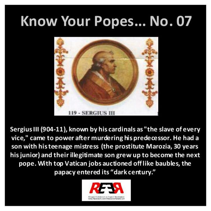 Know Your Popes #7