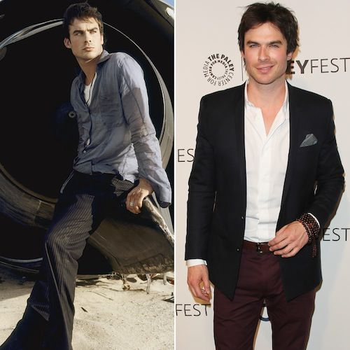 "Ian Somerhalder ""Boone Carlyle"" Ages: 25 and 35"