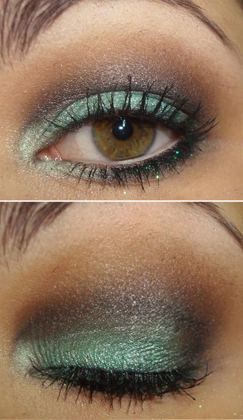 I recreated this today w/ Mac eyeshadows    Steamy e/s on lid,  Satin Taupe e/s in crease,  Blue Brown pigment in my outer corner & crease  Shroom above crease  Vanilla to highlight  ...received several compliments!