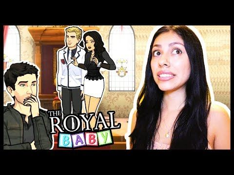 I GOT CAUGHT KISSING THE PRINCE! - THE ROYAL BABY (Episode) - App Game - YouTube