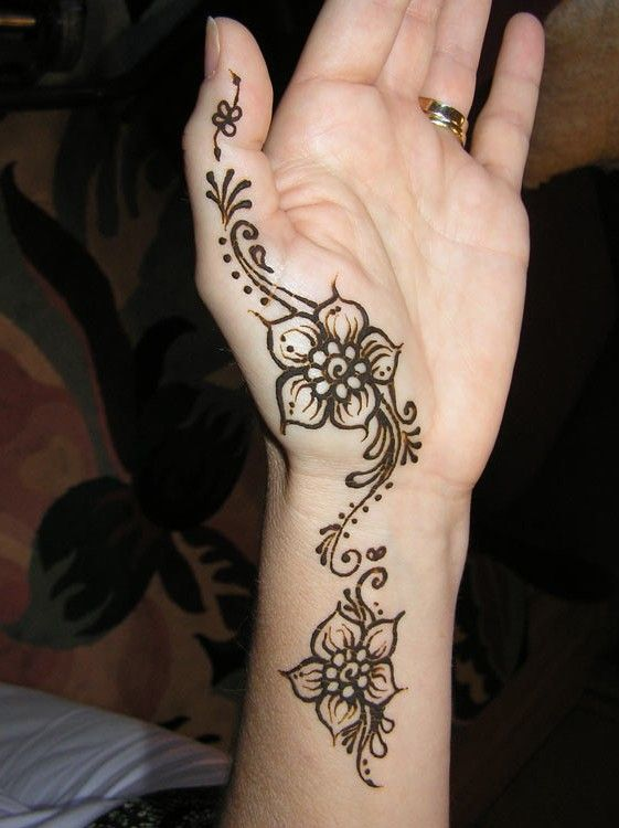 Mehndi Back Hand Flower : Best images about henna on pinterest designs
