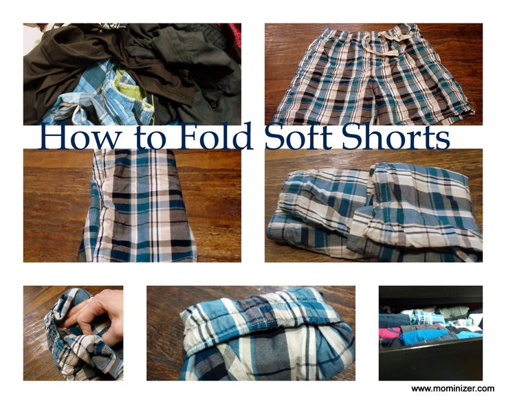 How to Fold Shorts…You Know {Those Kinds of Shorts}