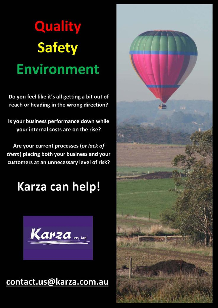 Quality, Safety & Environment: Karza can help!