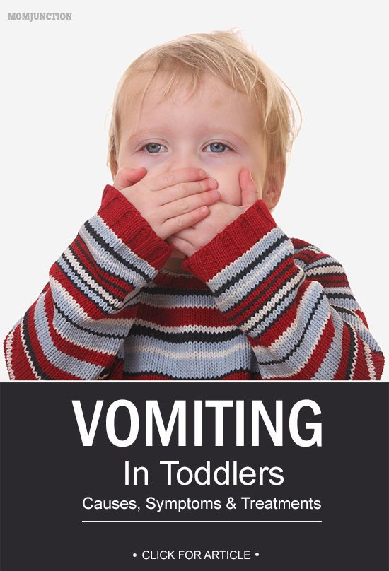 Vomiting In Toddlers – Causes, Symptoms & Treatments You Should Be Aware Of :Here we look at some of the causes and symptoms of vomiting and how to prevent your toddler from throwing up often. #babyheath
