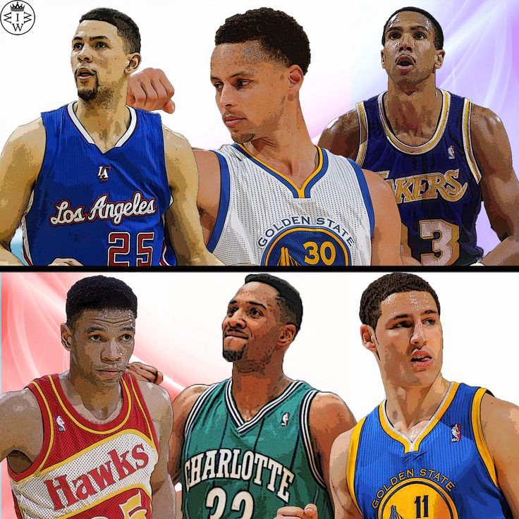 As requested, father and son edition.  Austin Rivers, Steph Curry, and Mychal Thompson VS Doc Rivers, Dell Curry, and Klay Thompson  **Alonzo Mourning is in the photo as Dell Curry for this one, I got them confused by accident**  Who Would Win It?