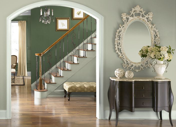 this project created on behr com used these colors