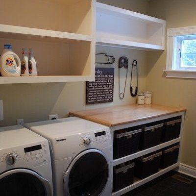 Laundry Room Storage Idea Funky Decor Pinterest