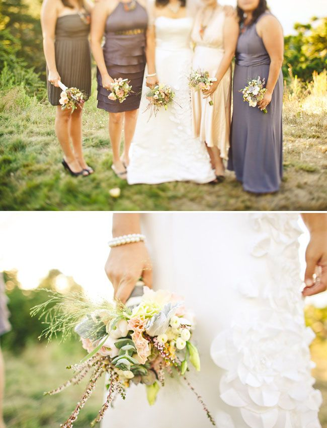 Northern california backyard wedding nury aaron for Wedding dresses northern california