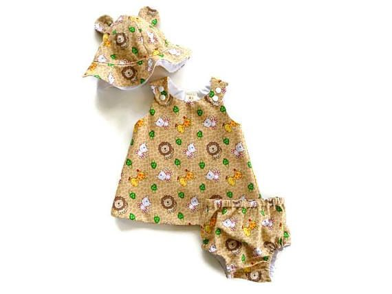 Jungle baby outfit  jungle toddler outfit  jungle print