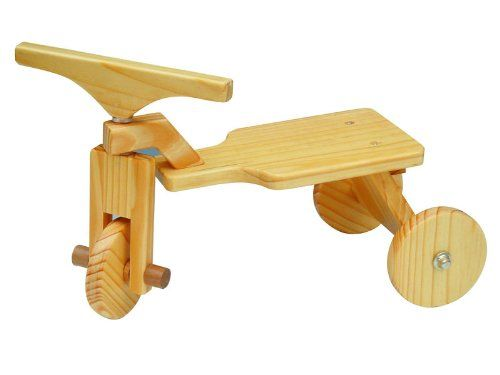 """WOODEN TRICYCLE 12"""" Wooden Furniture By Golden Keepsakes: Toys & Games"""