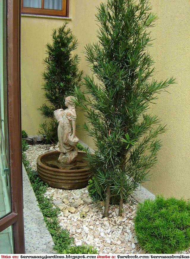 M s de 25 ideas incre bles sobre peque os jardines - Jardines pequenos imagenes ...
