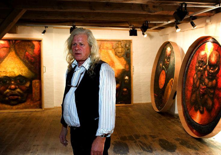 Artist & Sculptor Kurt Trampedach 13.05.1943 - 12.11.2013.