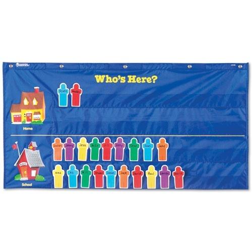 Preschool Classroom Design Standards ~ Attendance pocket chart teaching pinterest