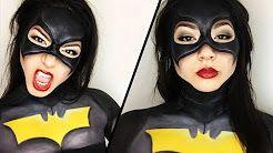 BATGIRL/BATMAN MAKEUP TUTORIAL - YouTube