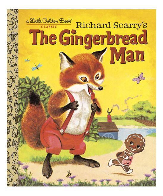 Little Golden Books Richard Scarrys The Gingerbread Man Little