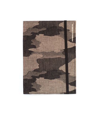 Delfonics 2014 Diary - A5 (15x21cm) - Weekly Notebook - Brown Camo