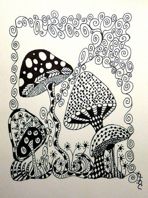 Mushrooms aren't always ugly by KimberlyJDC, via Flickr