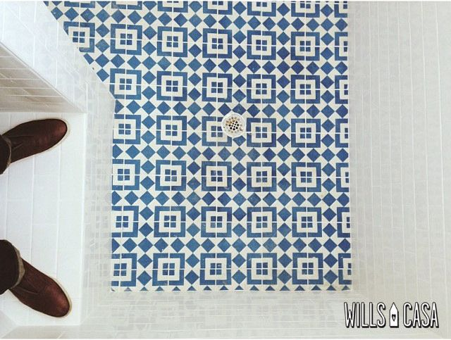 Shower-Tile by Wills Casa, via Flickr - gorgeous tiles