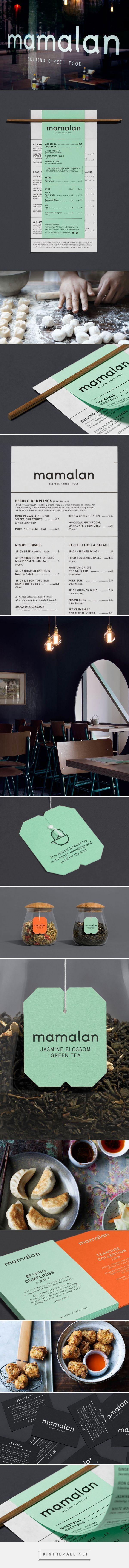 Mamalan Beijing Street Food Restaurant Branding and Menu Design by Midday | Fivestar Branding Agency – Design and Branding Agency & Curated Inspiration Gallery