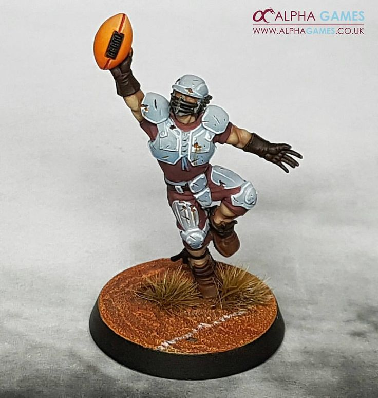 "75 Likes, 2 Comments - Alpha Games (@alphagamesuk) on Instagram: ""Wip. This guy is almost done now for a human #bloodbowl team called the #averlandalphas. Trying to…"""