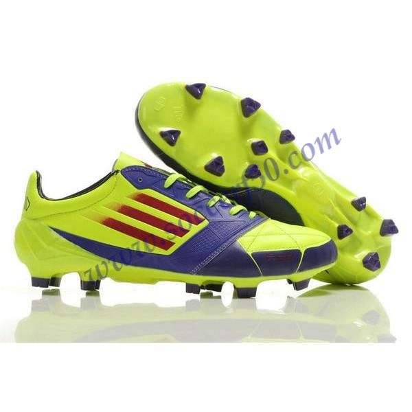 release date 83c43 9af27 Buy adidas F50 adizero TRX FG Leather Micoach Bundle Shoes Purple Green Red  For Wholesale