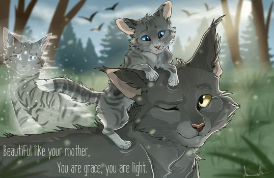 I love this song soooo much and it fits Graystripe and Silversteam really well!!