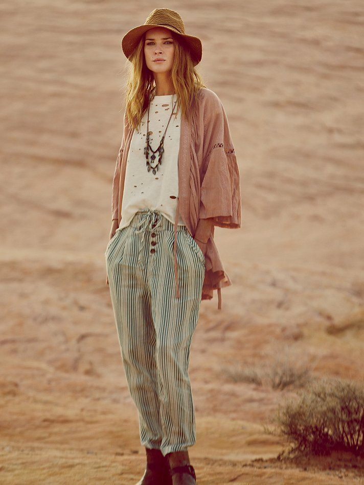 Free People True Companion Trouser At Free People Clothing Boutique My Style My Sweet Ii