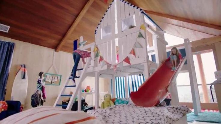 Kids have fun playing on a jungle gym bed where they can slide into a memory foam mattress. SKECHERS aimed to bring that level of fun and comfort to its Memory Foam for Kids shoes.