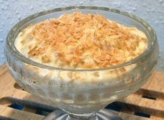 Low Carb COCONUT CREAM PUDDING  - Lots of good low carb dessert recipes
