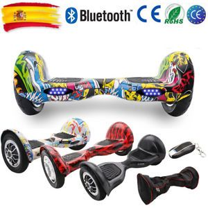a 10 patinete electrico scooter self balancing monociclo hoverboard bluetooth es
