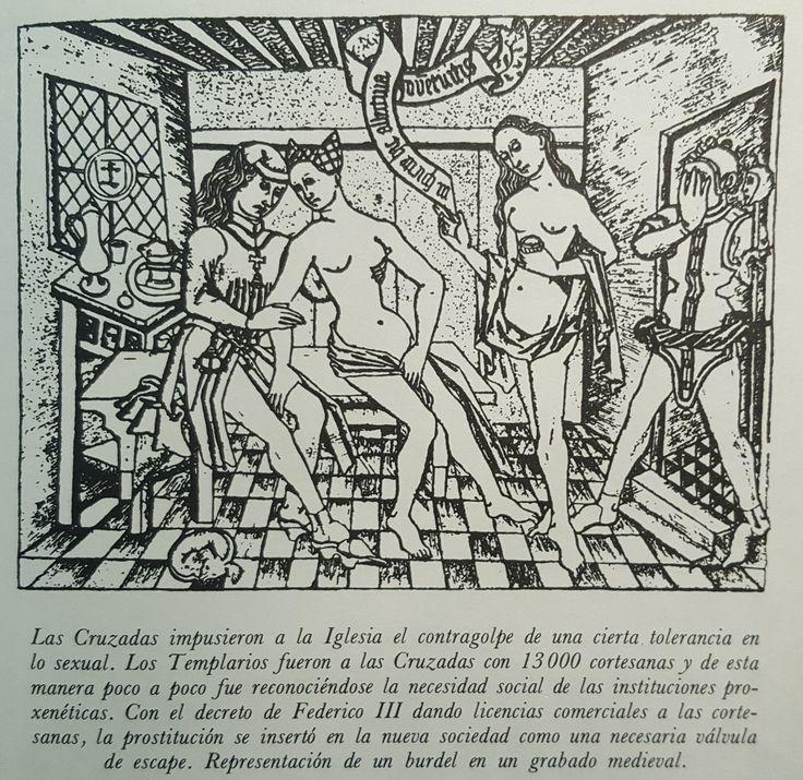 Prostitución en las cruzadas medievales