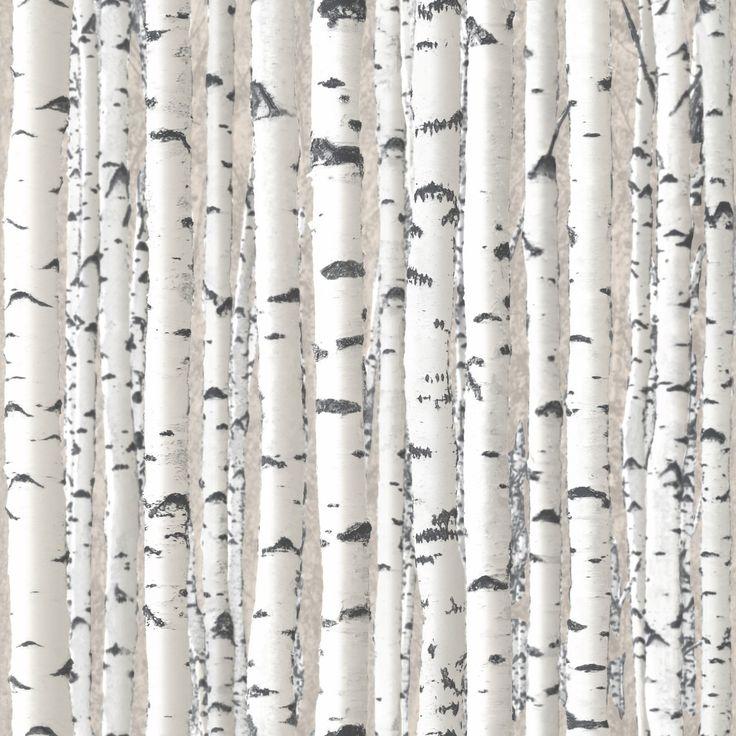 Branches White Wallpaper | Debona Wallcoverings | Lancashire Wallpaper