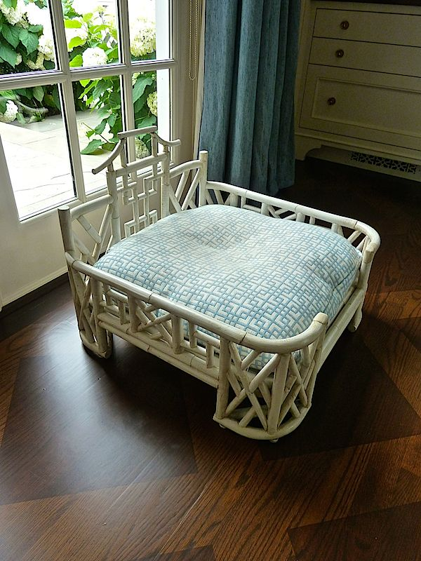 Pure decadence -a fab dog bed