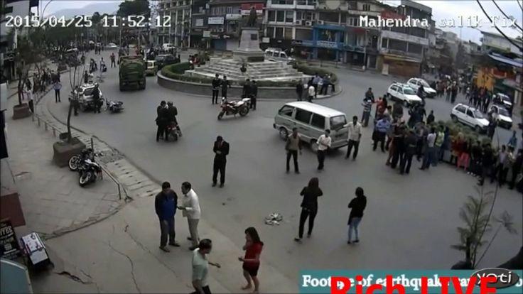 Amazing Earthquake  Live Video Moment