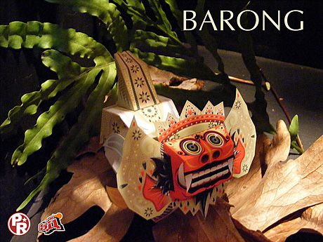 Barong Papertoy