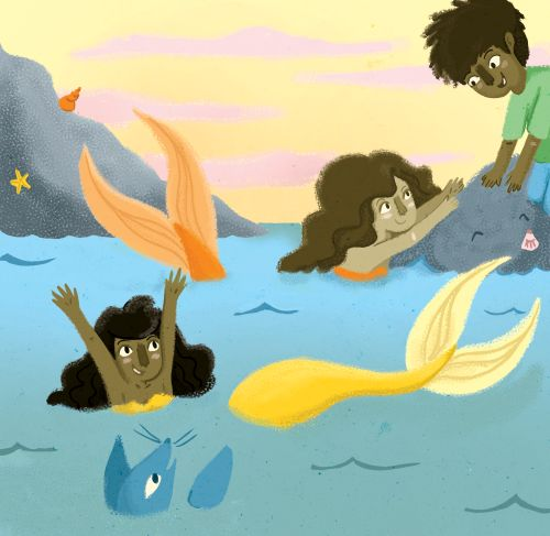 Mermaids <3 Alexandra Turner-Piper